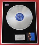 PHIL COLLINS - HELLO, I MUST BE GOING! PLATINUM LP presentation Disc